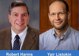 Pictures of Professor Harms and Professor Listokin