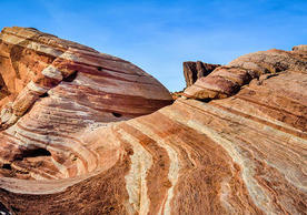 Rock formation, Valley of Fire, Nevada