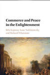 The book cover of Commerce and Peace in the Enlightenment