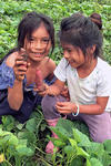 Shuar children in the Amazon